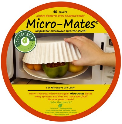 MicroMates Will not give you cancer Micorwave food covers